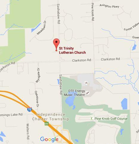 Find Us St Trinity Evangelical Lutheran Church